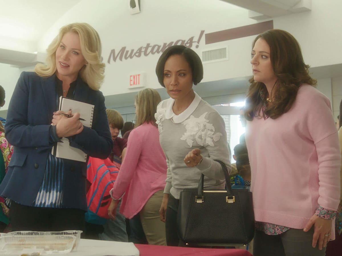 Christina Applegate, Jada Pinkett Smith, and Annie Mumolo in Bad Moms