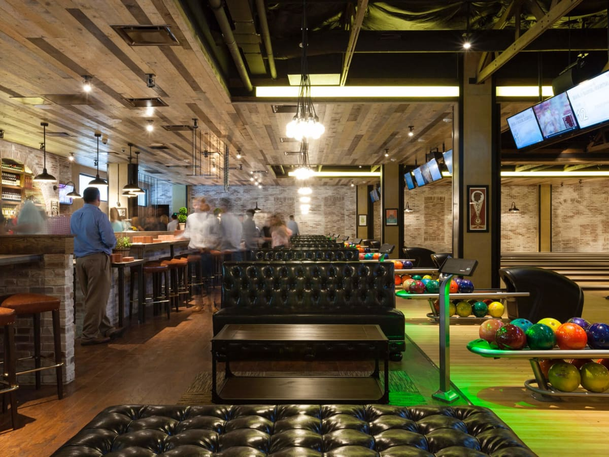 Upscale Bowling Alley Scores As Nightlife Entertainment