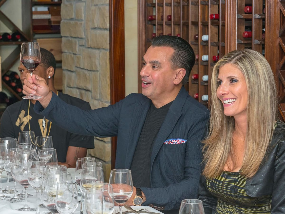 Olympic Basketball party 7/16, Hublot watch, Dr. DevinderBhatia, Gina Bhatia