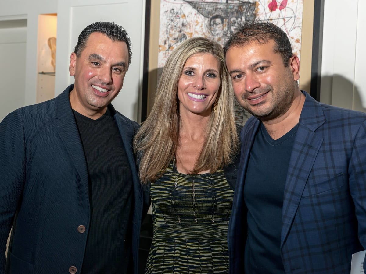 Olympic Basketball party 7/16, Hublot watch, Dr. Devinder Bhatia, Gina Bhatia, Kamel Hotachandi