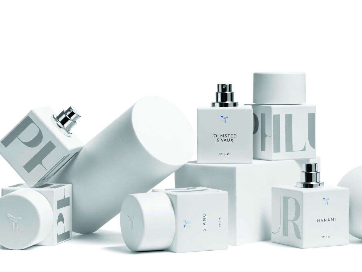 Phlur fragrance bottles