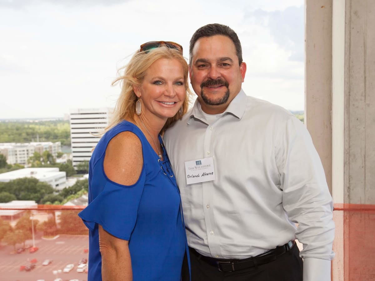 Wilshire Topping Out, July 2016, Kari Alvarez, Orlando Alvarez