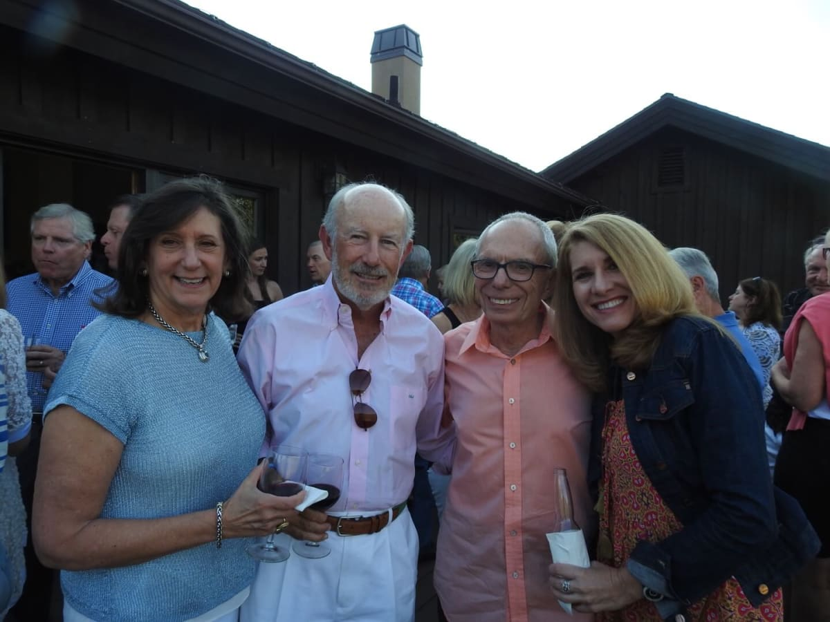 Lynda Irvine, John Irvine, John Mann and Pam Kutner