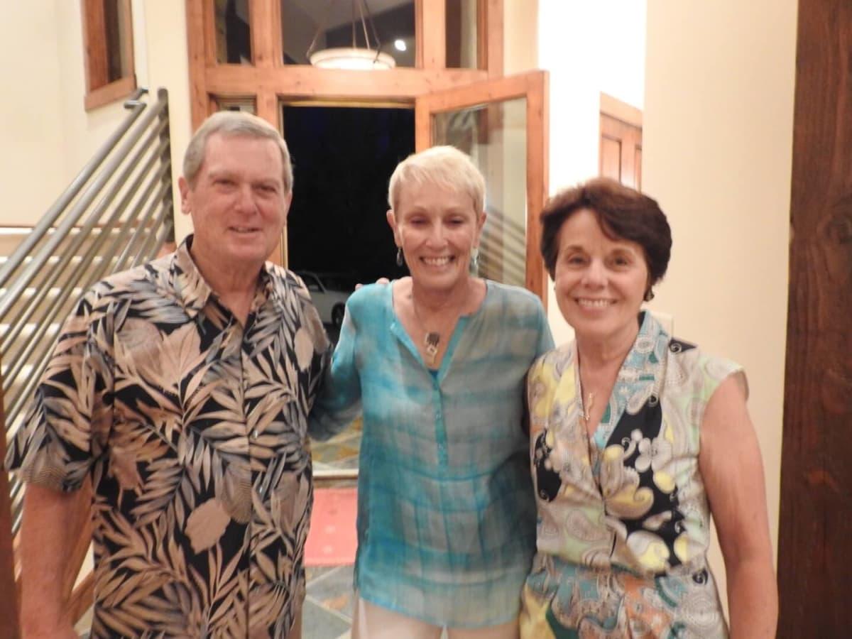 Ed and Betsy Goldstein, Ginni Mithoff