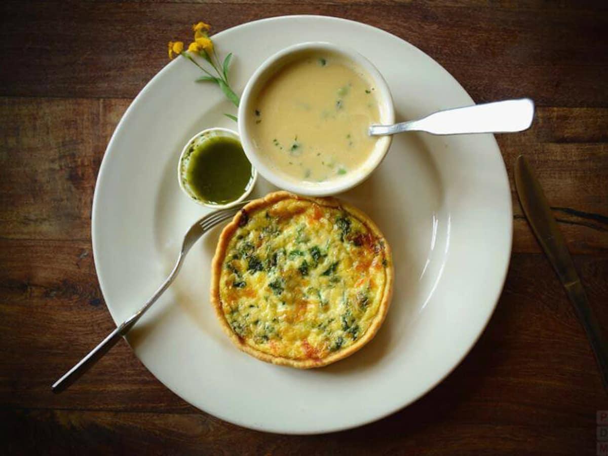 Liberty Bar San Antonio restaurant quiche soup special