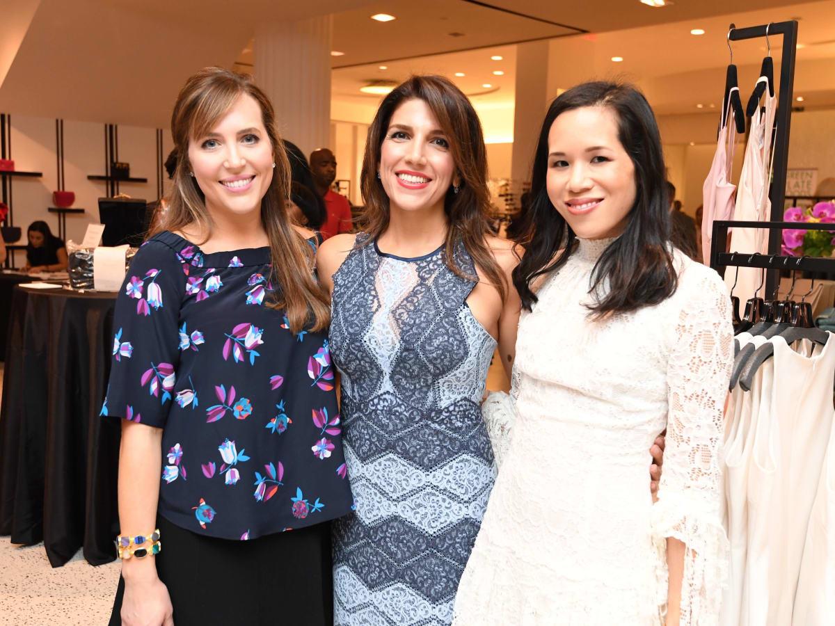 Women of Wardrobe, Aug. 2016, Mary Patton, Neekie Kashani, Stephanie Fleck