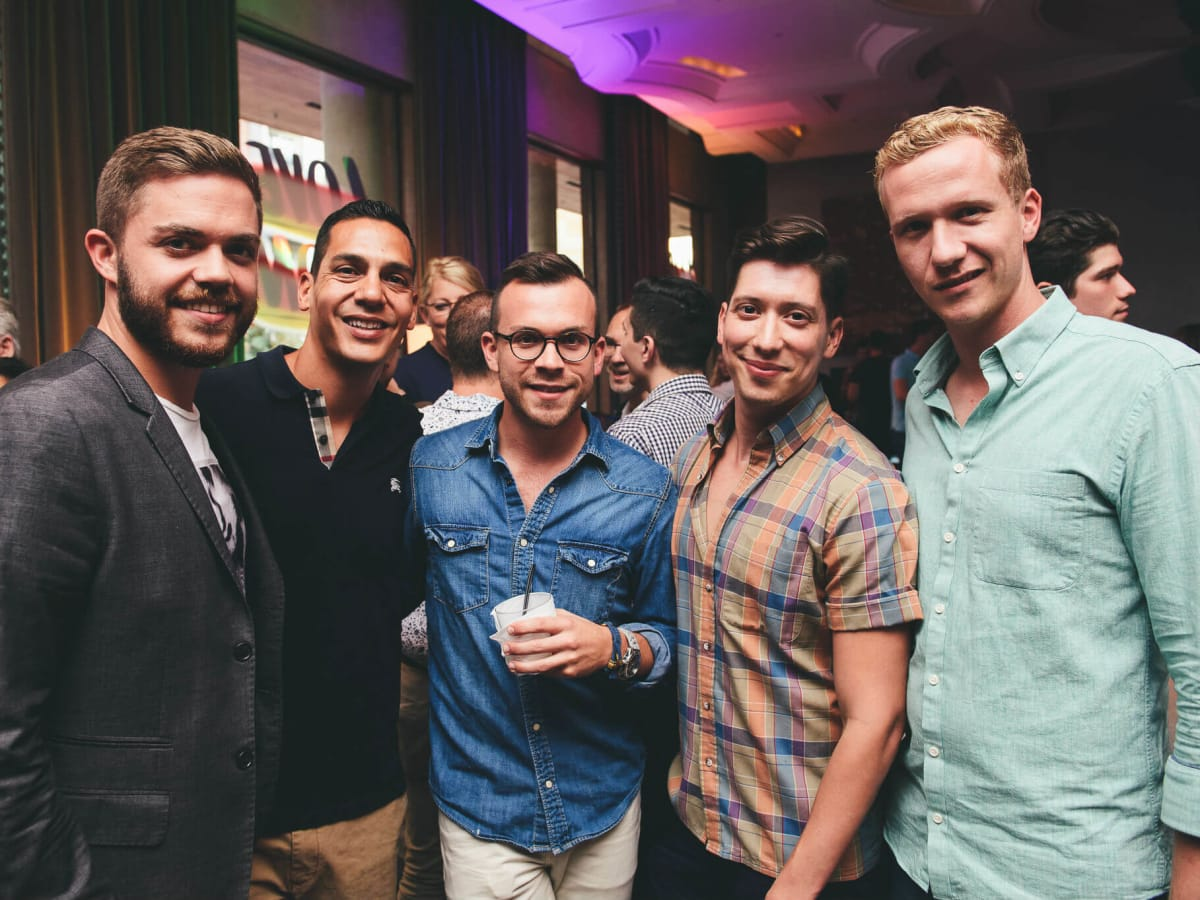 Turn it Up for Change Human Rights Campaign W Austin hotel Austin Pride 2016 James Hearne Eric Luna David Diaz Gilbert Hernandez Matthew Mercer