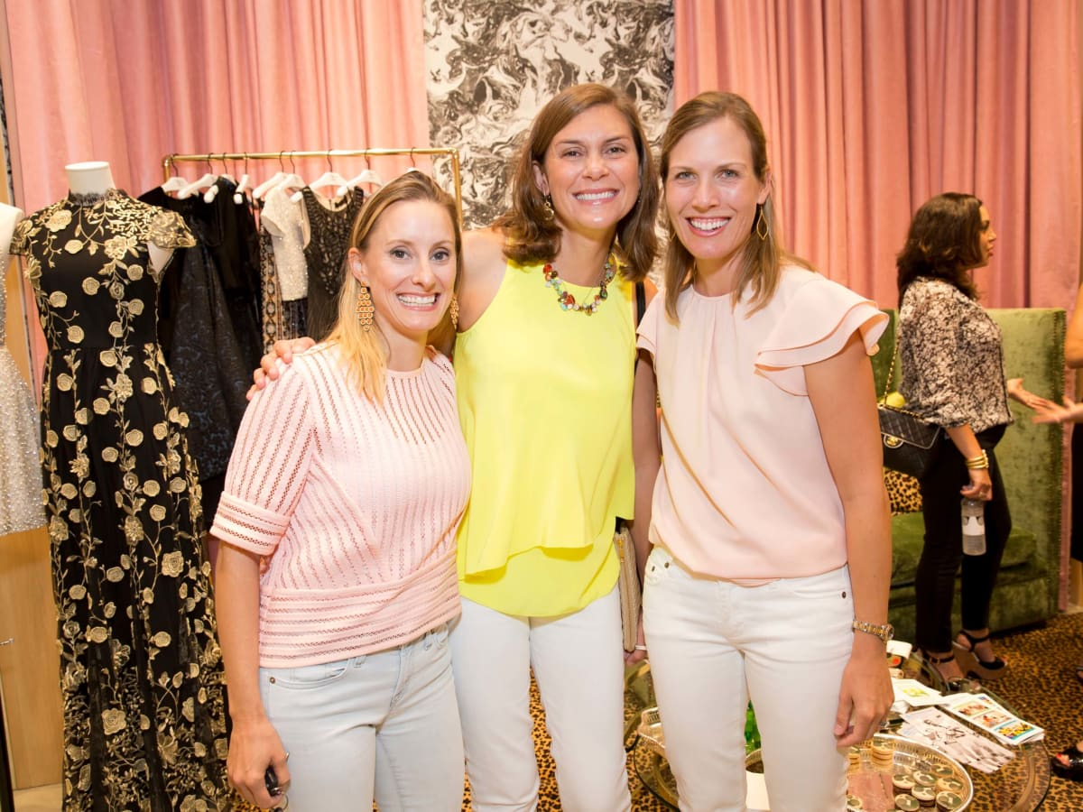 Alice and Olivia opening, 8/16, Allison Stasney, Sarah Punches, Nancy Kate Prescott