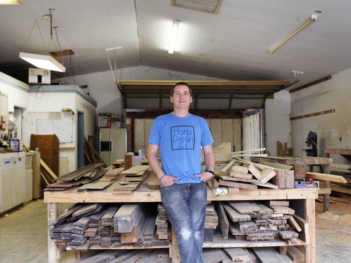 Clint Harp of HGTV's Fixer Upper