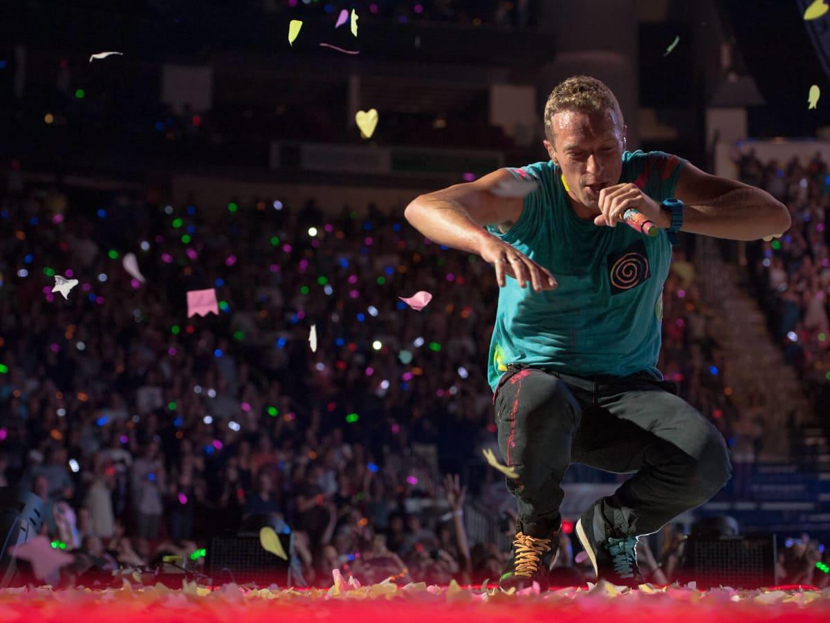 Coldplay, Chris Martin, Toyota Center, June 2012