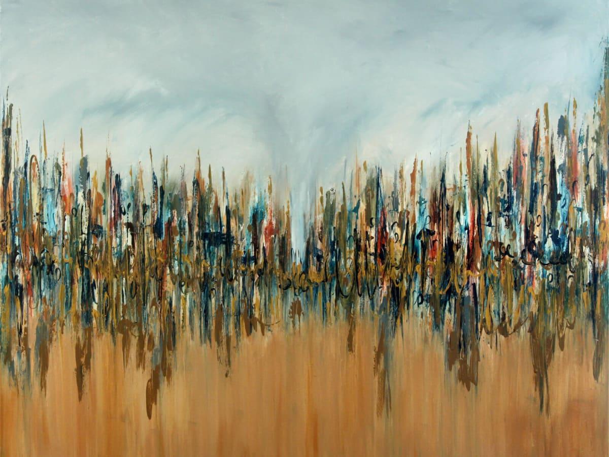 "Edgar Medina ""High Road to Taos"" painting"
