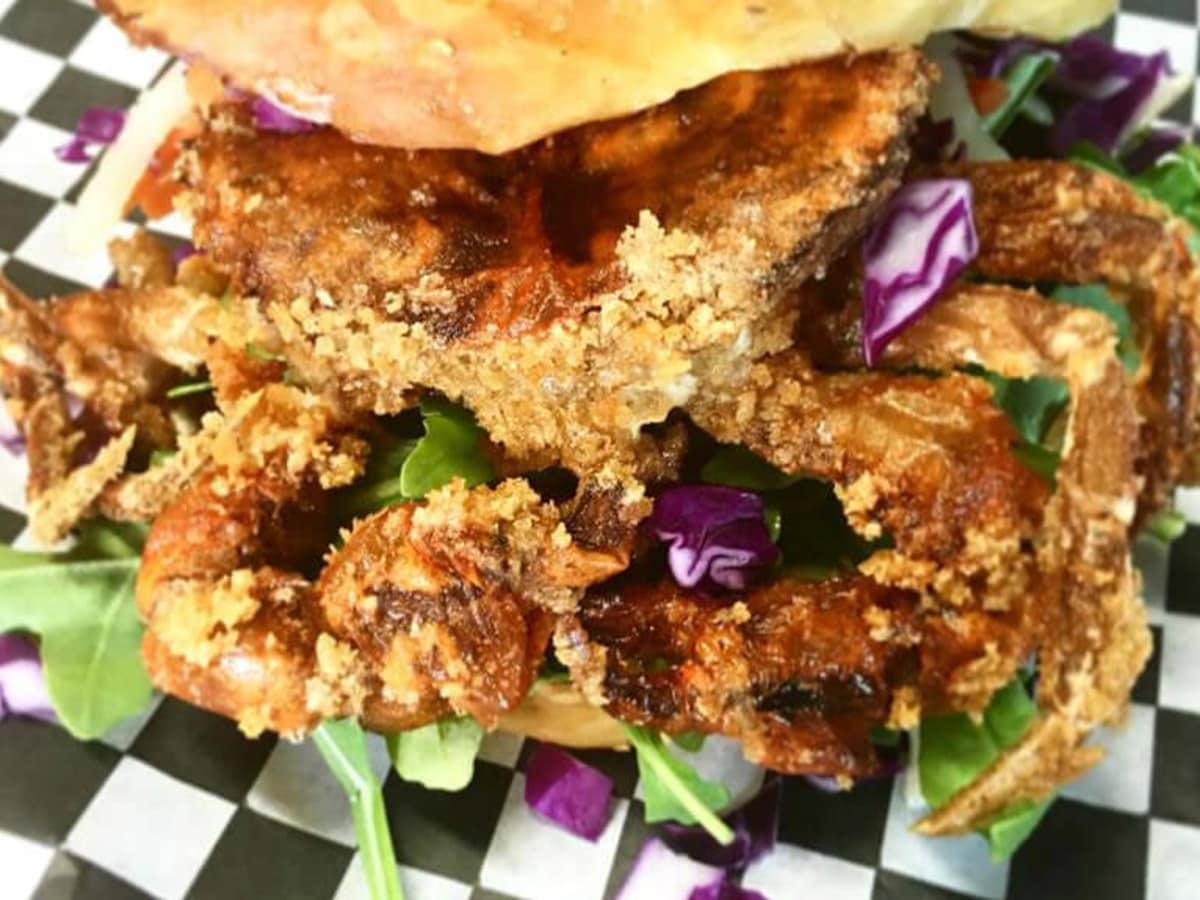 Benjis's Munch Truck San Antonio cran sandwich