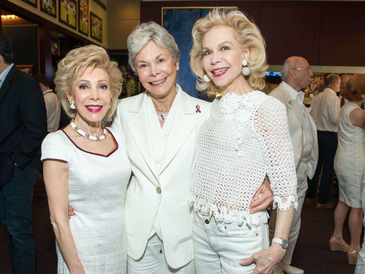 Houston Texans season opener, 9/26 Margaret Alkek Williams, Janice McNair, Lynn Wyatt