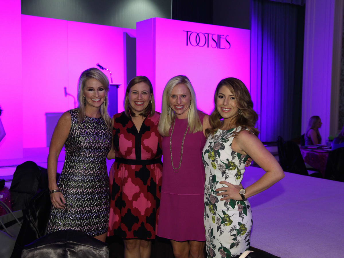 Junior League luncheon, 9/16, Amy Dunn, Katie Montgomery Mears, Abby Swalick Khatiblou, Hailee Crawford