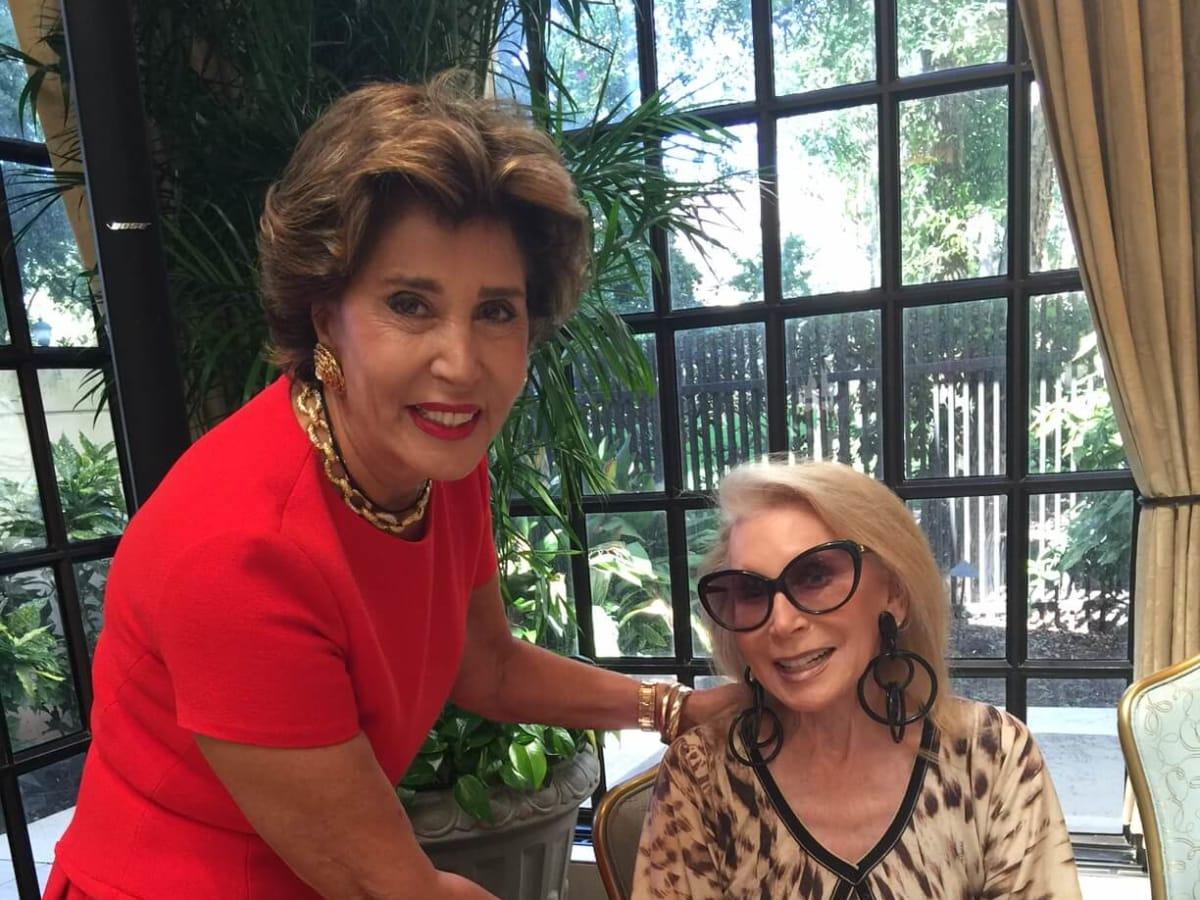 Fe Zande Fashion Show, Sept. 2016, Shahla Ansary, Joan Schnitzer Levy