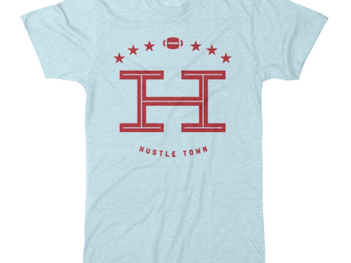 Houston, Running Game Clothing, September 2016, Hustle Town tee