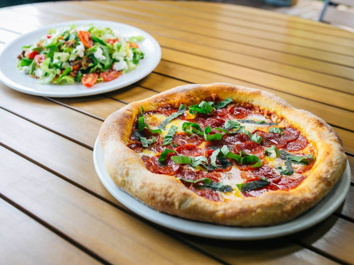 Pizza at Fireside Pies in Dallas