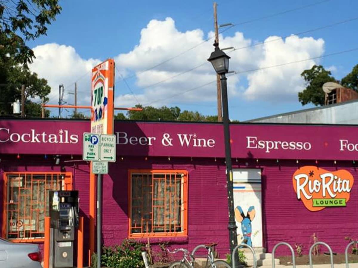 Rio Rita Lounge bar Austin East Sixth