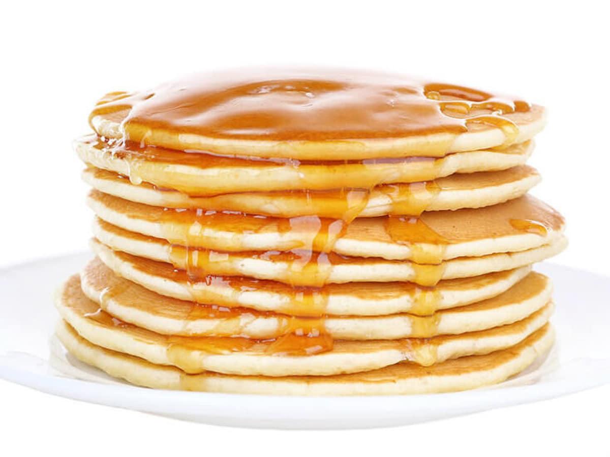 Pancakes at Original Market Diner in Dallas
