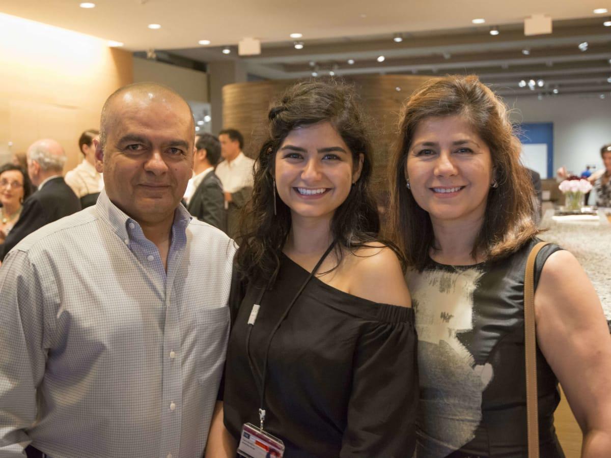 Harry Ransom Center Light and Shadow party 2016 Hector Mendoza Diana Mendoza Rosario Mendoza