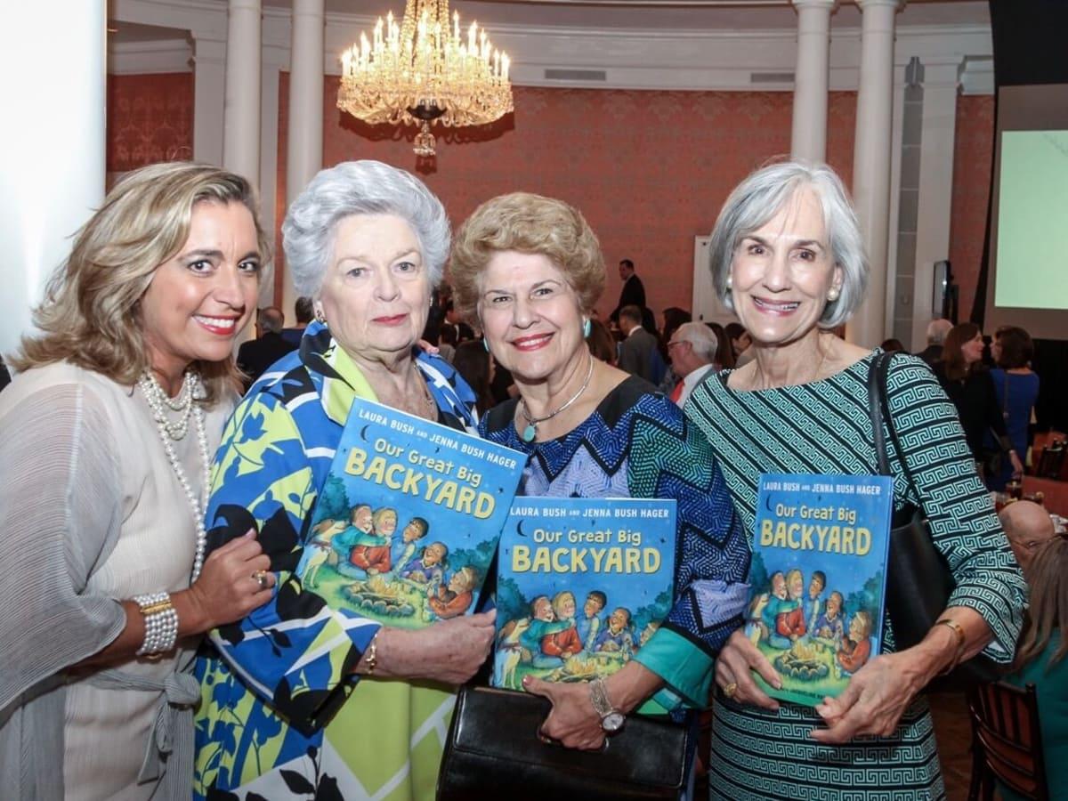 Mental Health Association luncheon, 9/16 Patty Dominguez, Barbara Coleman, Pat Banfill and Dolores Warner