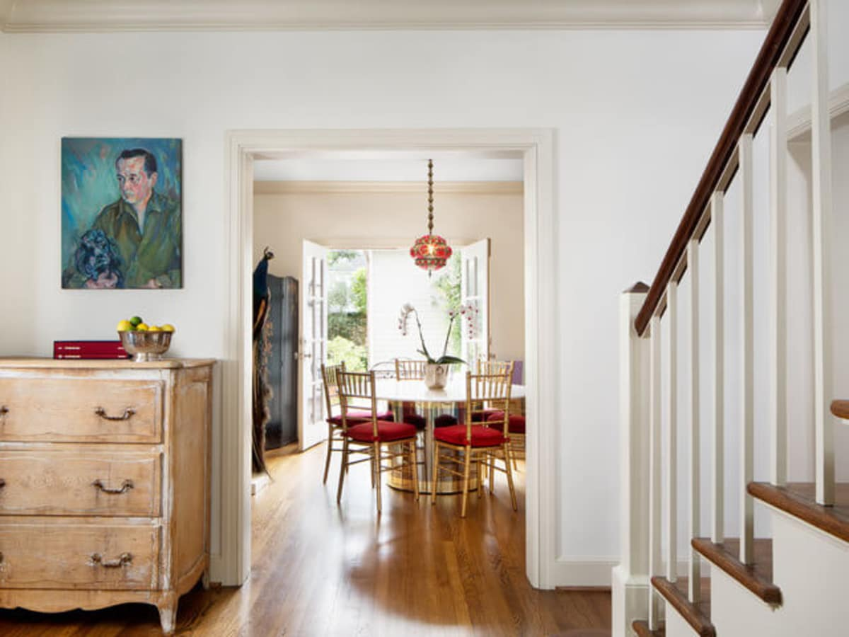 Houzz Houston house home Federalist-Style dining room
