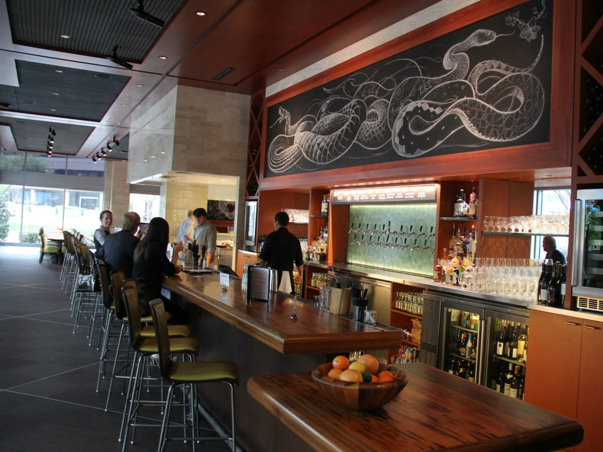 Bar at Lark on the Park restaurant in Dallas