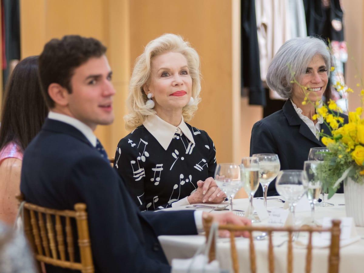 Mercury luncheon, 9/16, Roberto Weeden-Sanz, Lynn Wyatt, Judy