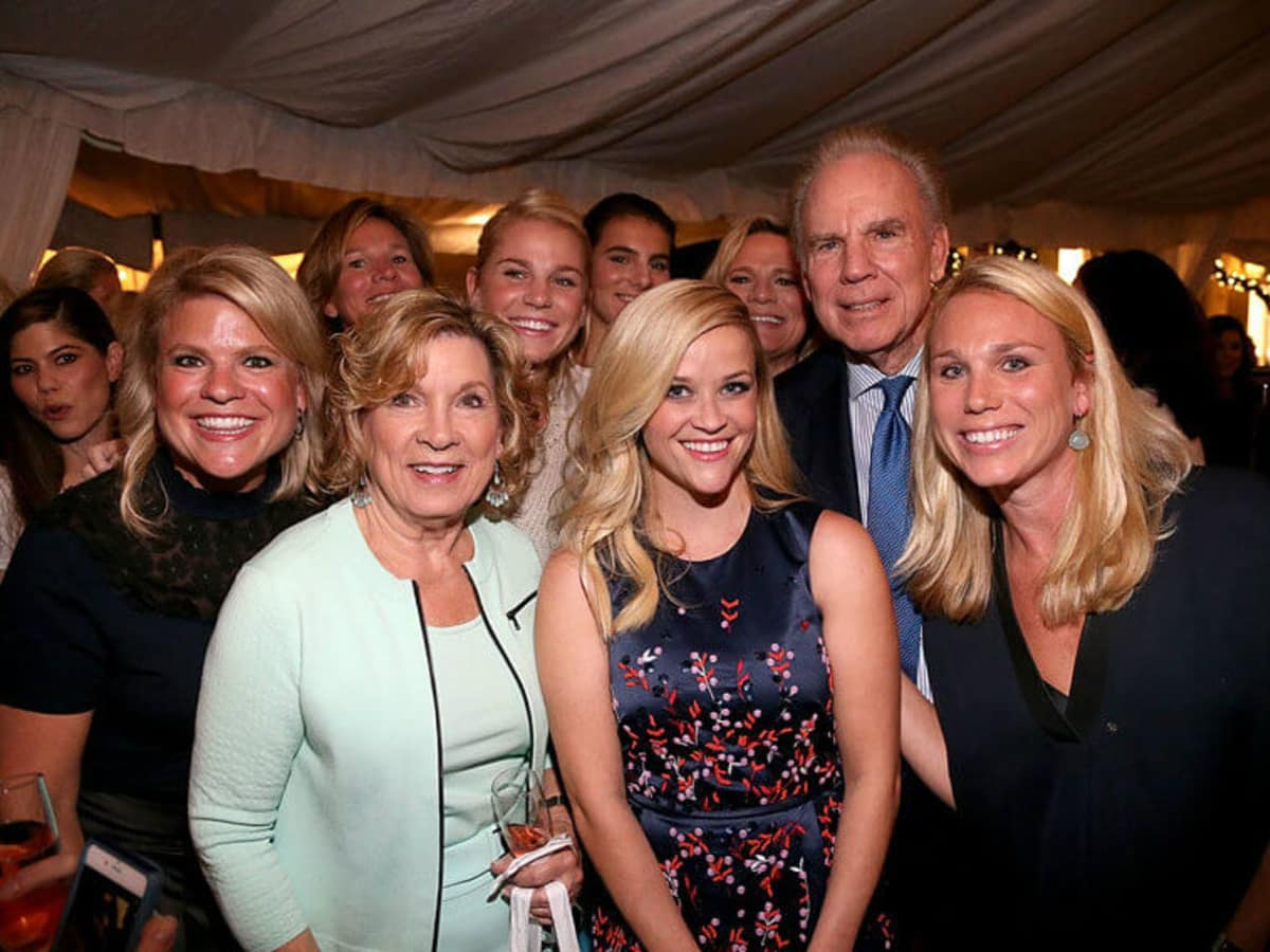 Reese Witherspoon and Staubach family at Draper James store opening