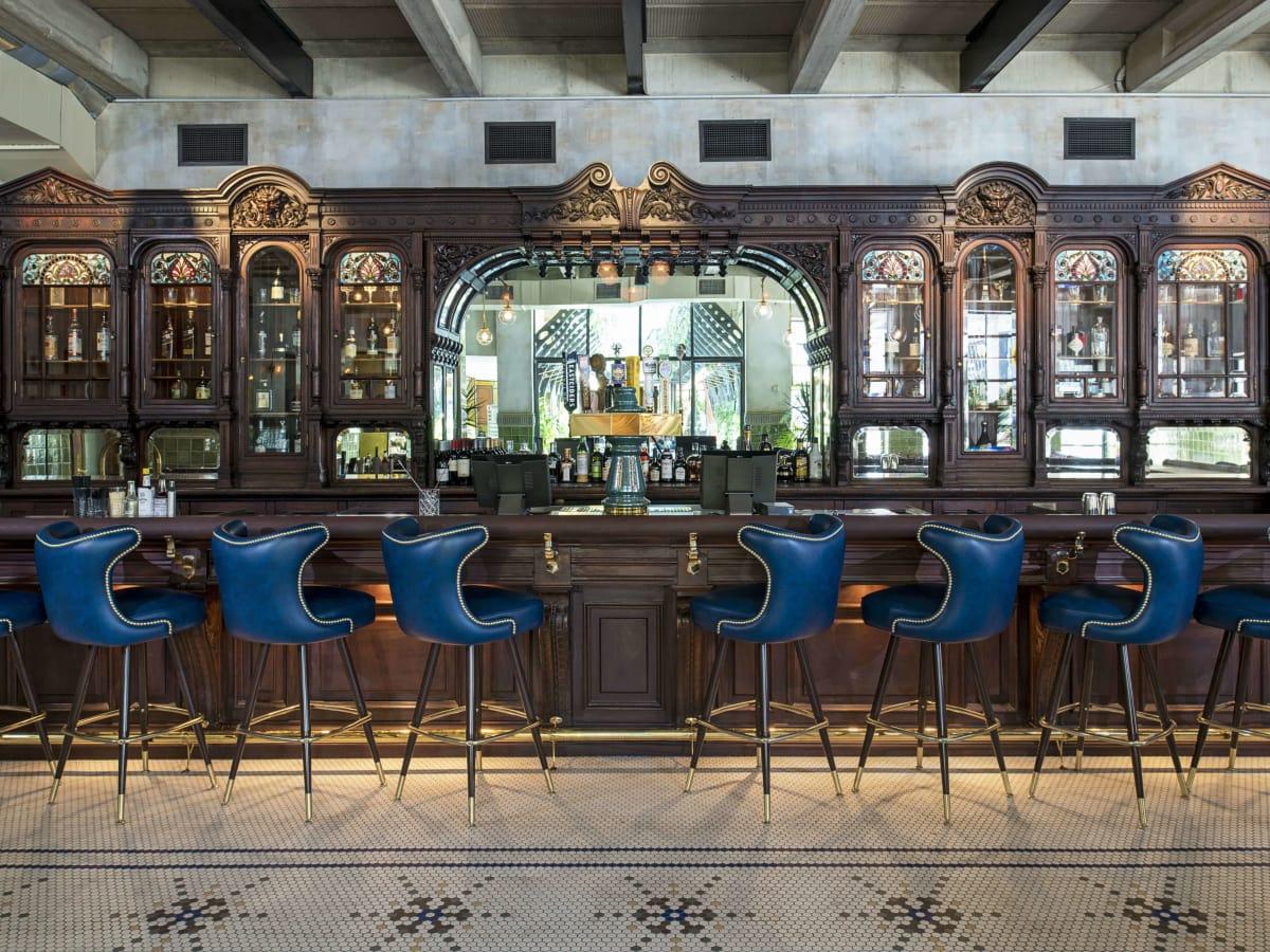 Cedar Tavern bar Eberly restaurant Austin