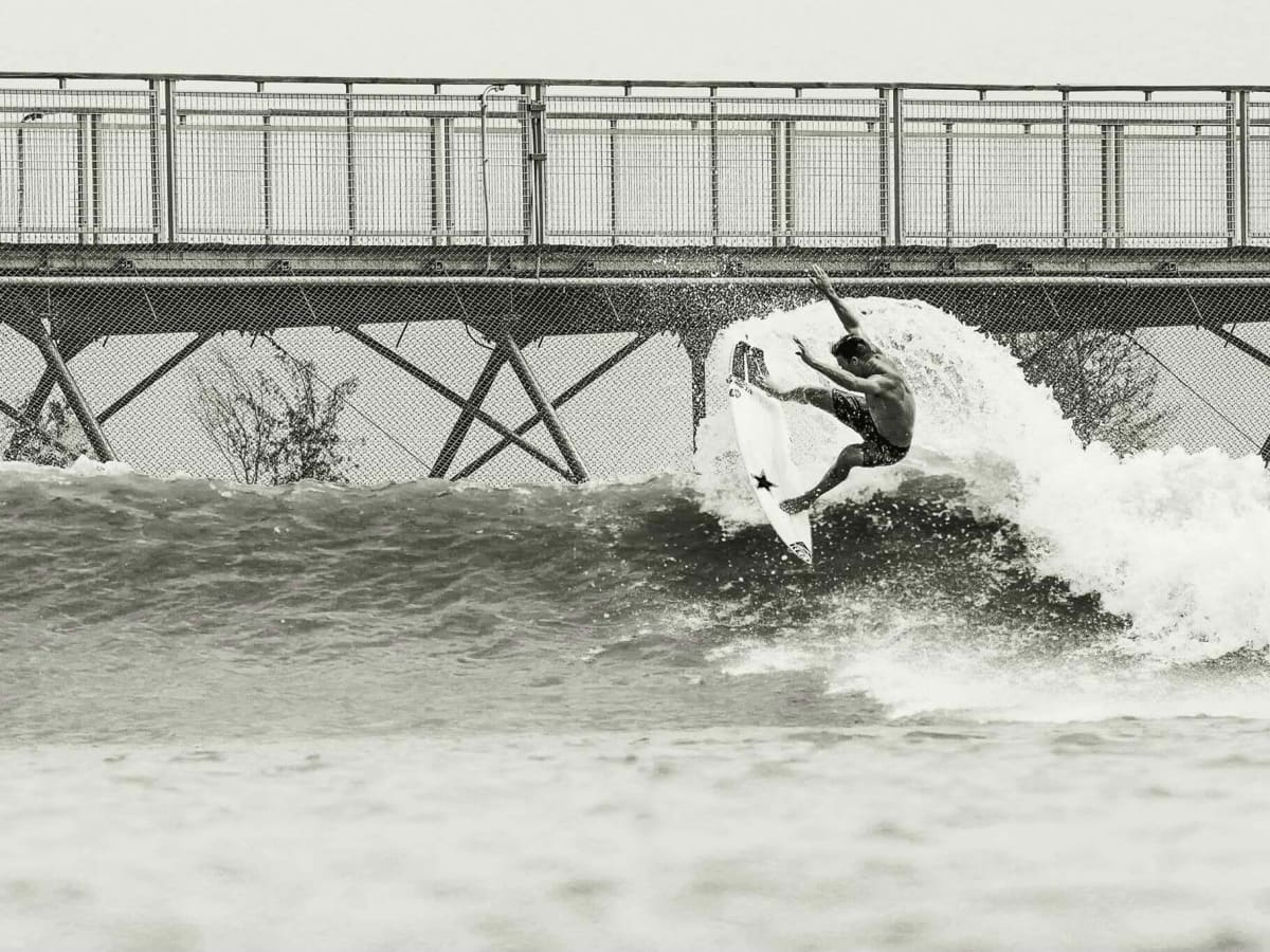 NLand Surf Park Austin surfer Mitch Crews