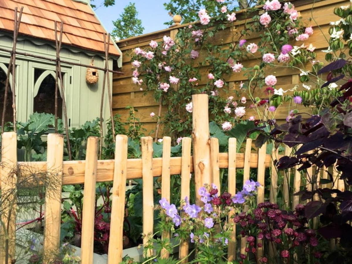 Houzz Rustic Garden