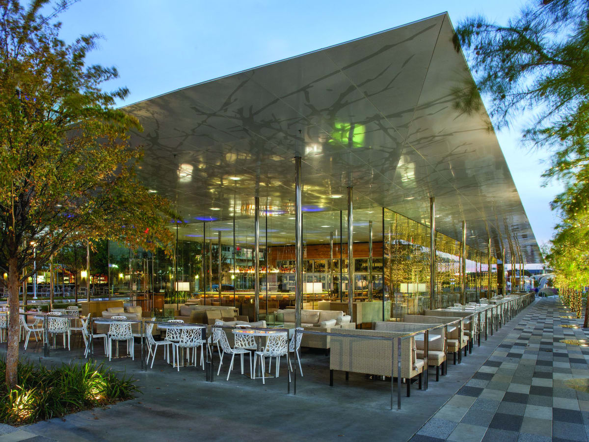 Savor Gastropub at Klyde Warren Park in Dallas