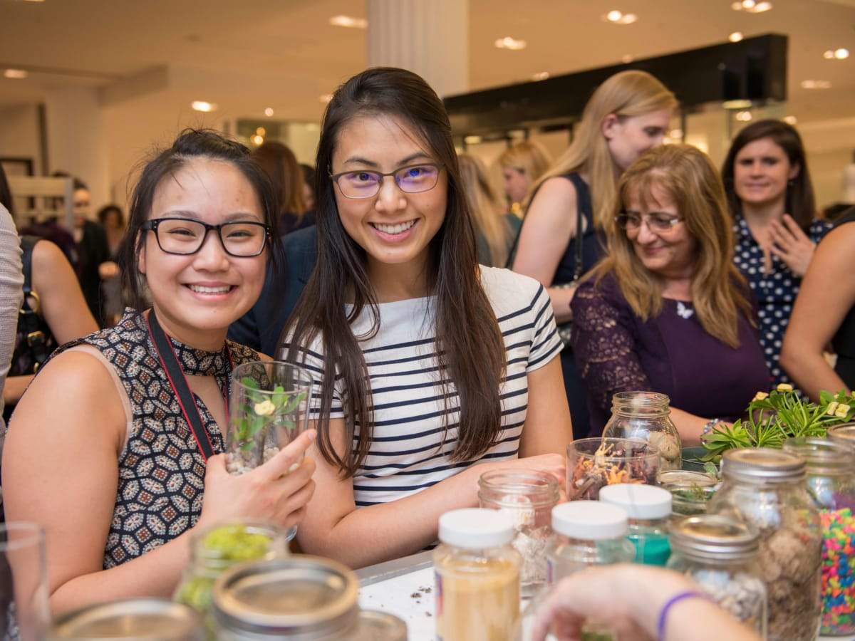 CultureMap Houston Social Top Texans Rebecca Lu, Nadine Chen