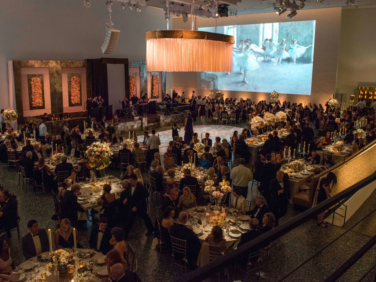 Overall view of Museum of Fine Arts Grand Gala Ball