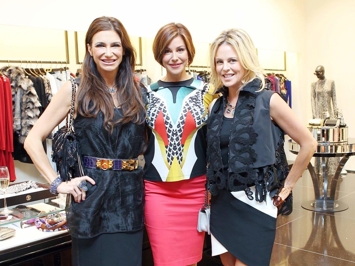 Houston, Una Notte in Italia Kick Off, Oct. 2016, Melissa Mithoff, Dominique Sachse, Elizabeth Petersen
