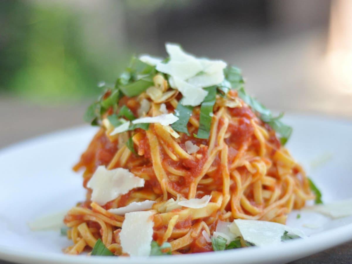 Red Ash Italian restaurant Austin spaghetti