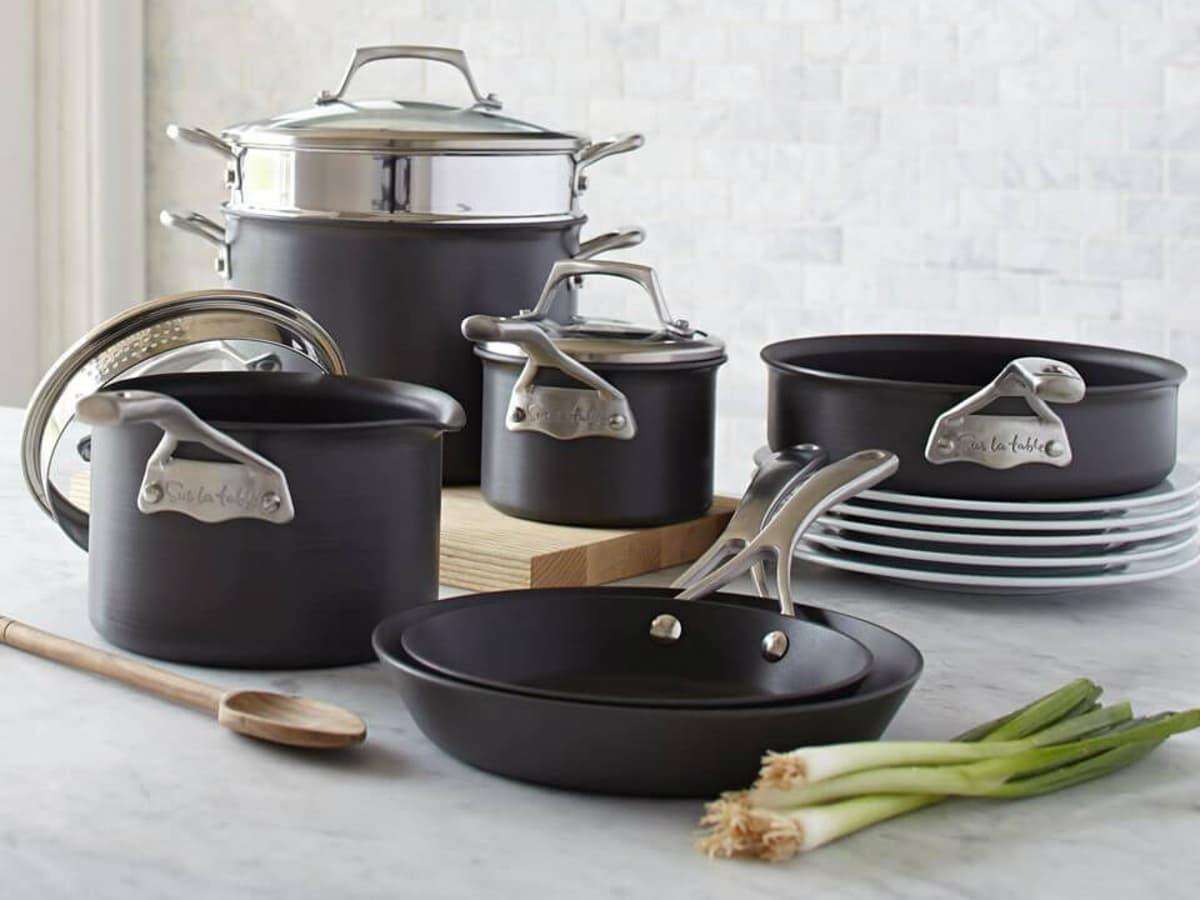 Sur la Table pots and pans