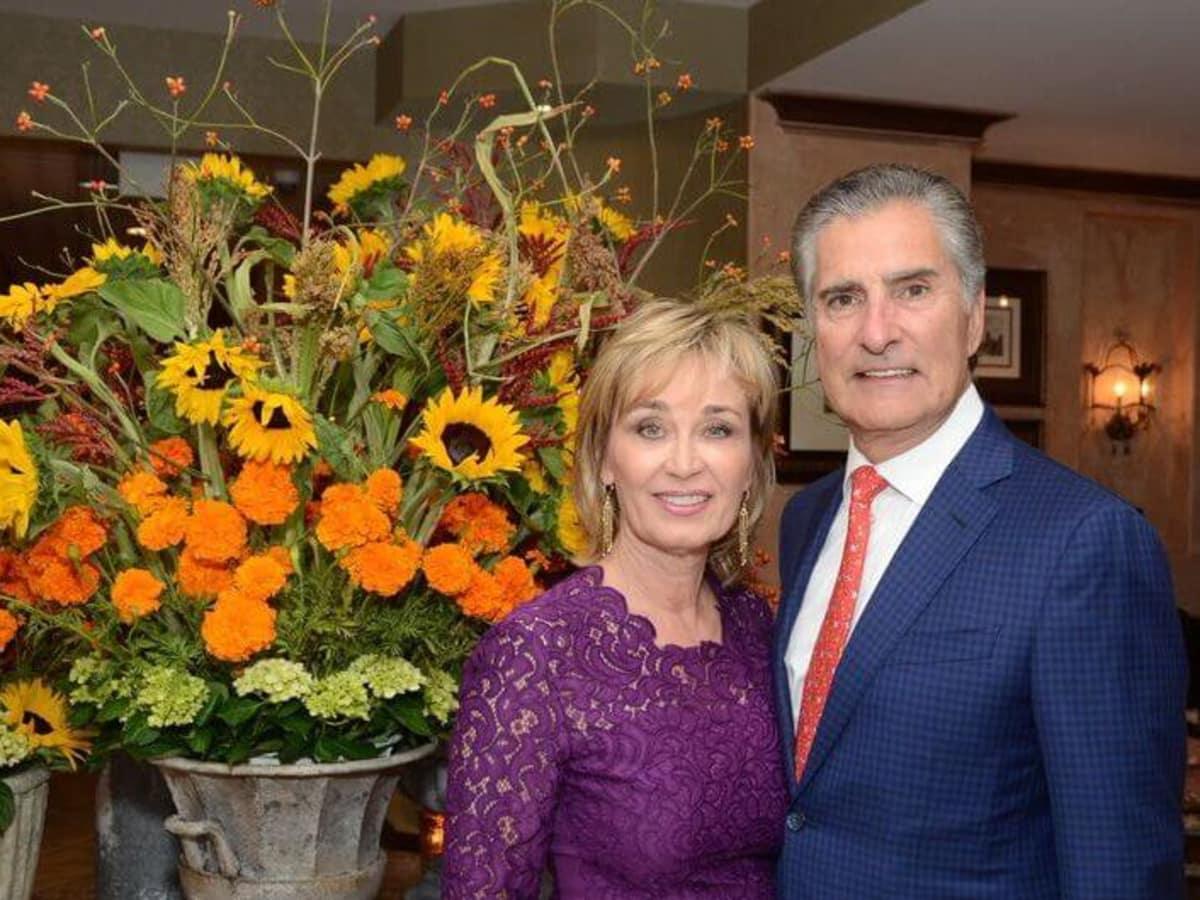 Houston, Hotel Granduca Houston's 10th Anniversary, Oct. 2016, Cathy Borlenghi, Giorgio Borlenghi