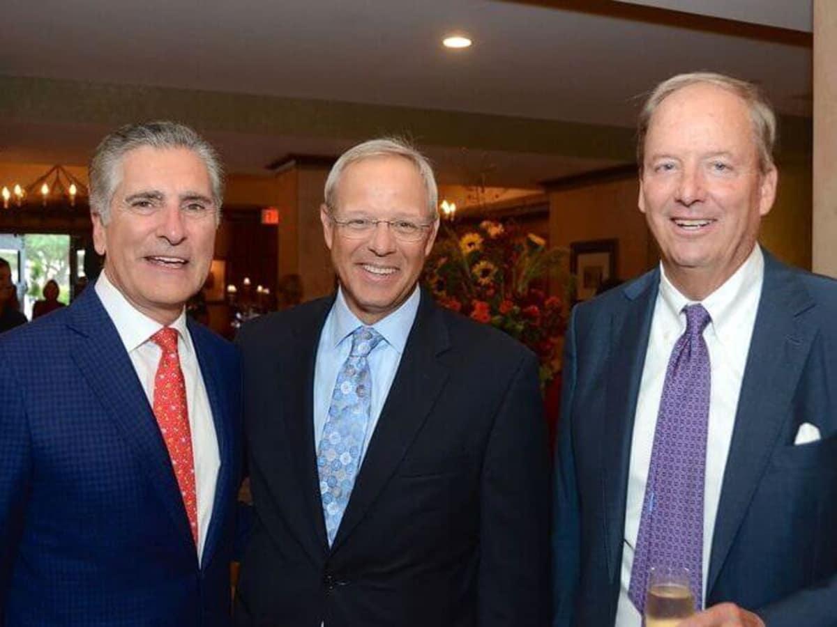 Houston, Hotel Granduca Houston's 10th Anniversary, Oct. 2016, Giorgio Borlenghi, Tim Waikem, Bob Palmquist