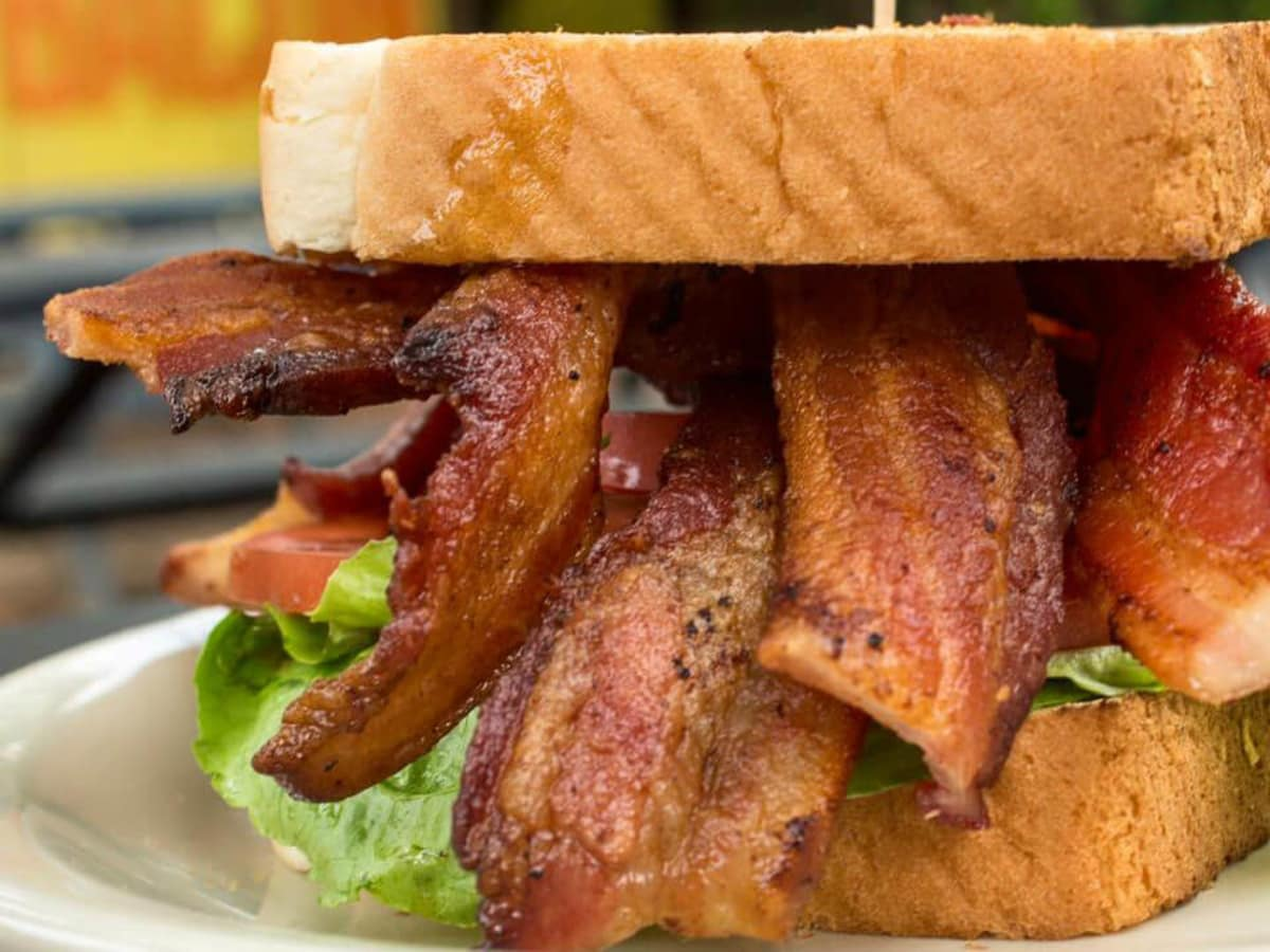Bacon restaurant Austin sandwich