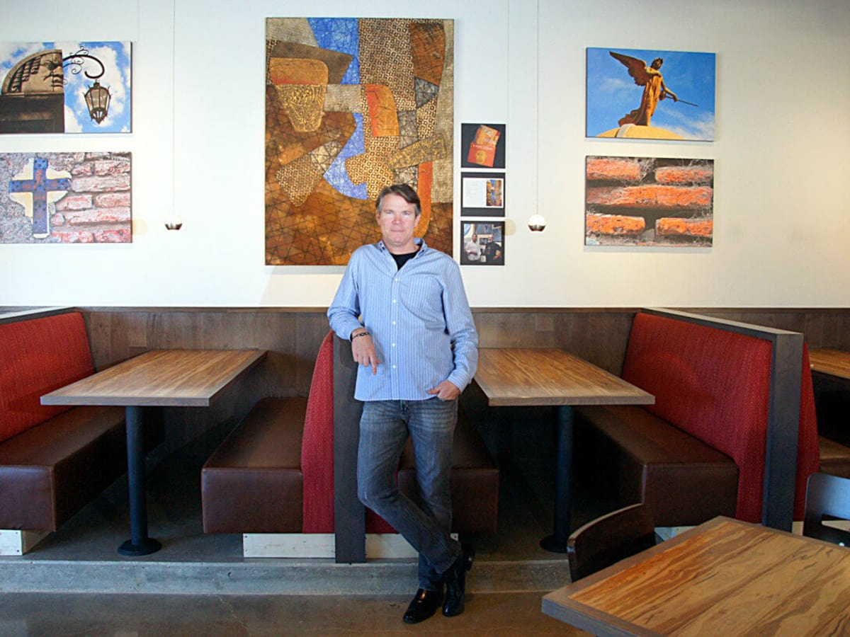 Craig Collins, owner of Nazca Kitchen in Dallas