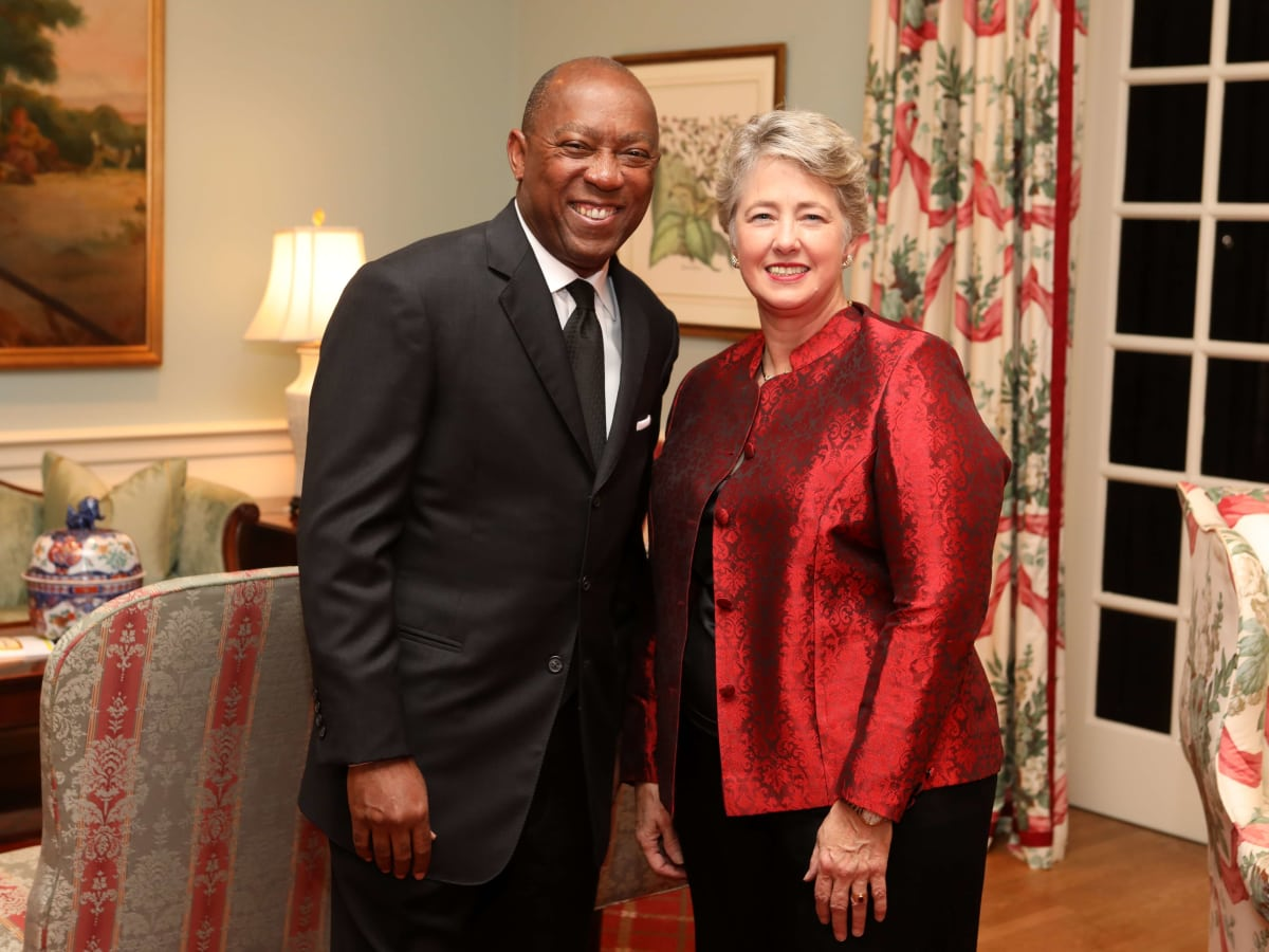 Houston, Barc Foundation's Barc On Broadway ball, Oct 2016, Mayor Sylvester Turner, Honorable Annise Parker
