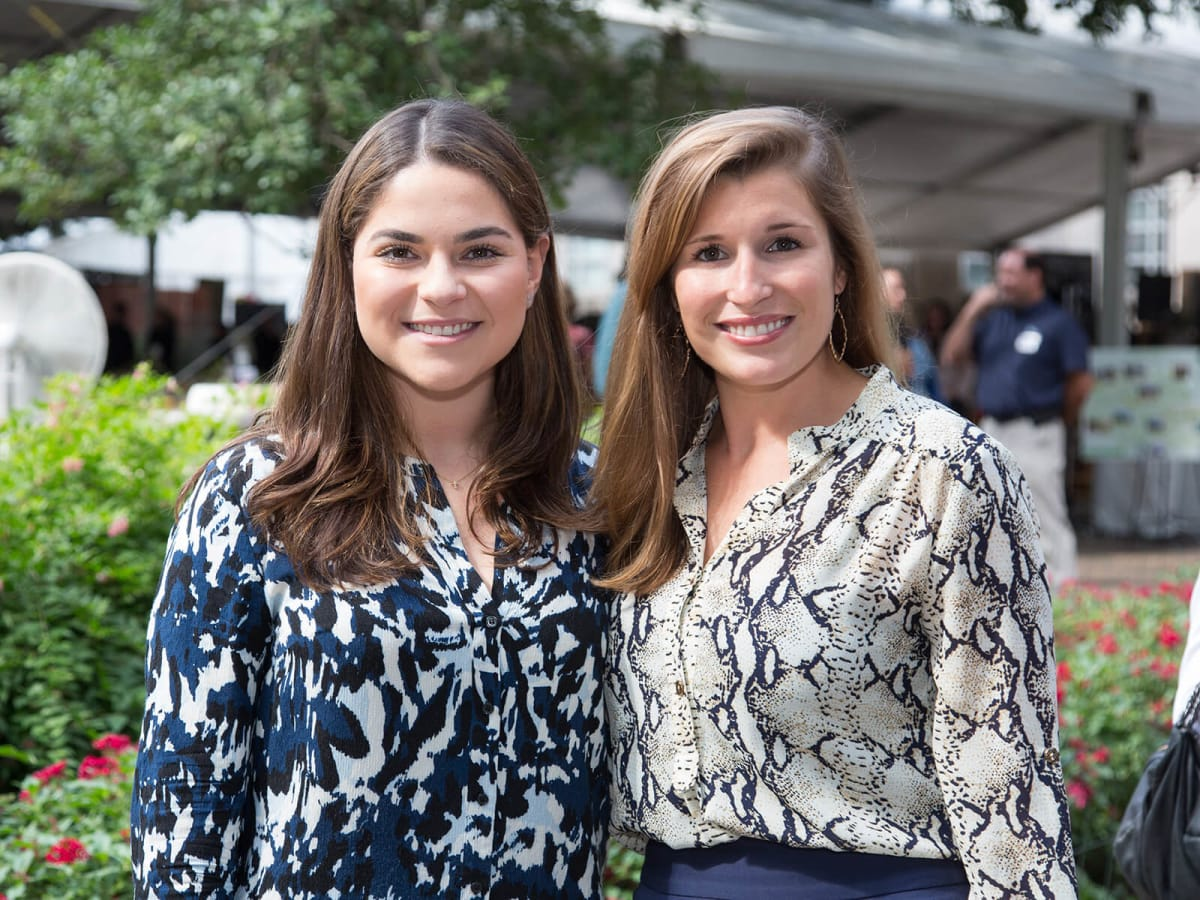 Houston Parks Board luncheon Mary Ann Cuellar, Katelyn Roche