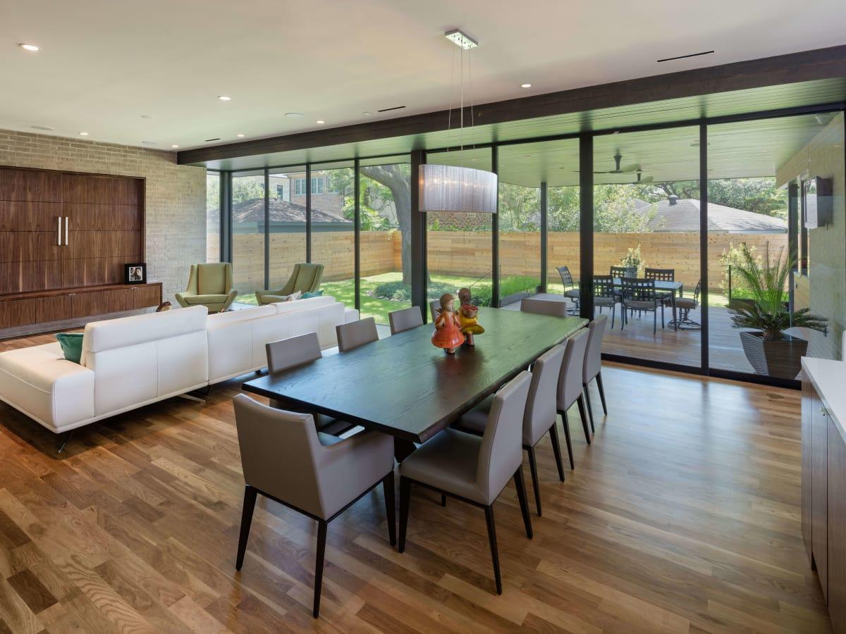 AIA Houston Home Tour 3615 Merrick living room