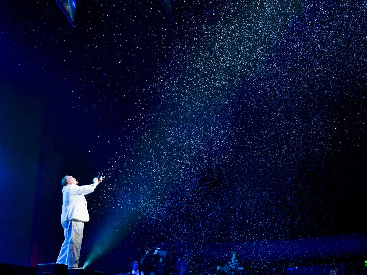 The Illusionists Kevin James The Inventor snow trick