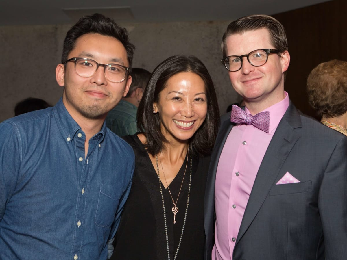 HCAF Kick-Off Party: Francisco Lo, Karen Fang, Jason Raschen
