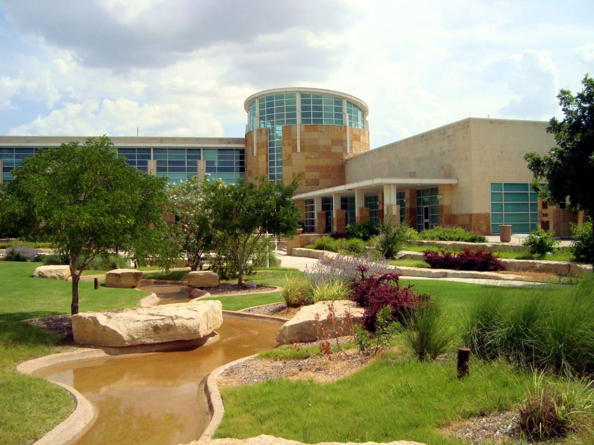 City of Allen civic plaza