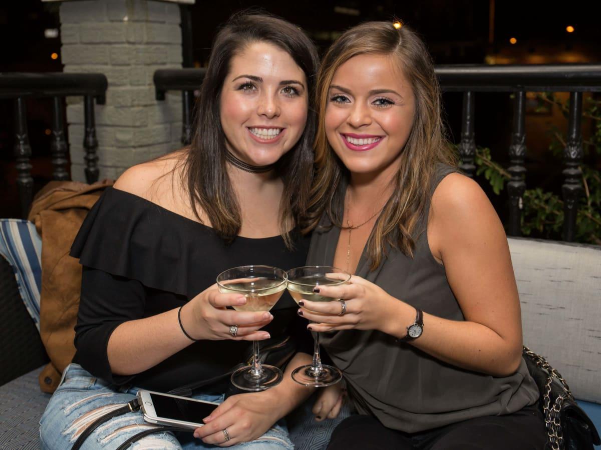 BumbleBFF party at Sophia's October 2016 Samantha Morrison Hannah Parma