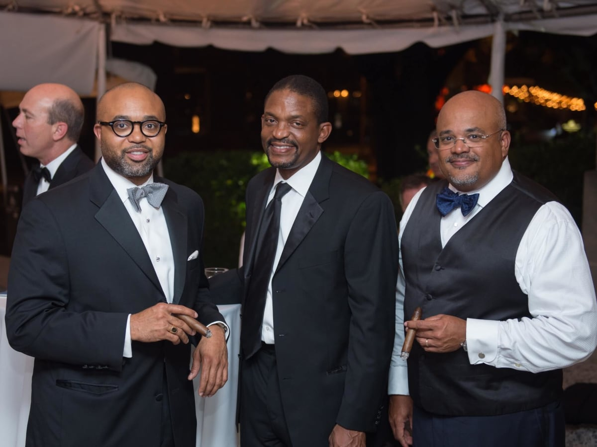 Brendon Riley, Andy Bynum, Barron Wallace at One Great Night in November